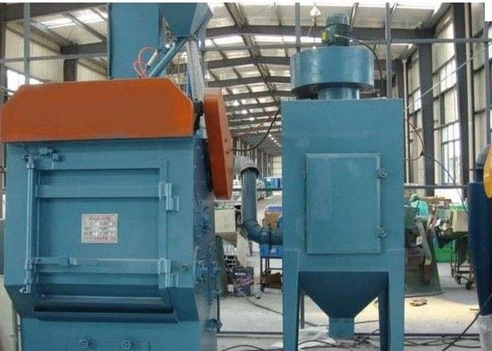 Crawler Auto Tumble Belt Shot Blasting Machine Compact Structure ISO9001